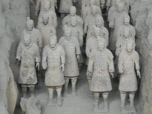 秦の始皇帝陵(中国)