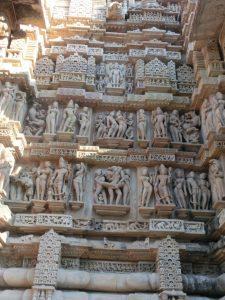 カジュラホの建造物群(インド)