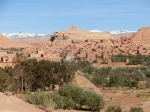 アイト・ベン・ハッドゥの集落(モロッコ)