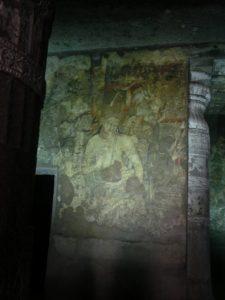 アジャンターの石窟群(インド)