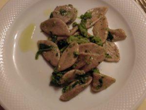 おいしいイタリア料理 オレキエッテ
