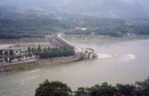 青城山と都江堰(中国)