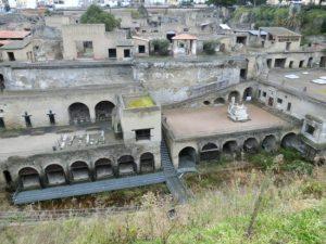 ポンペイ、ヘルクラネウム及びトッレ・アンヌンツィアータの遺跡地域(イタリア) エルコラーノ