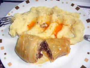 おいしいクロアチア料理 ロールキャベツ
