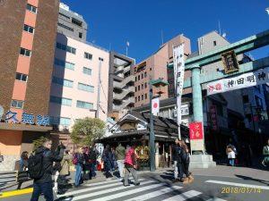 東京で人気の神田明神に参賀