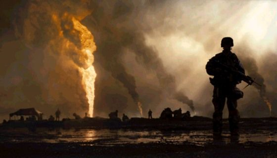 la Guerra del Golfo en el cine
