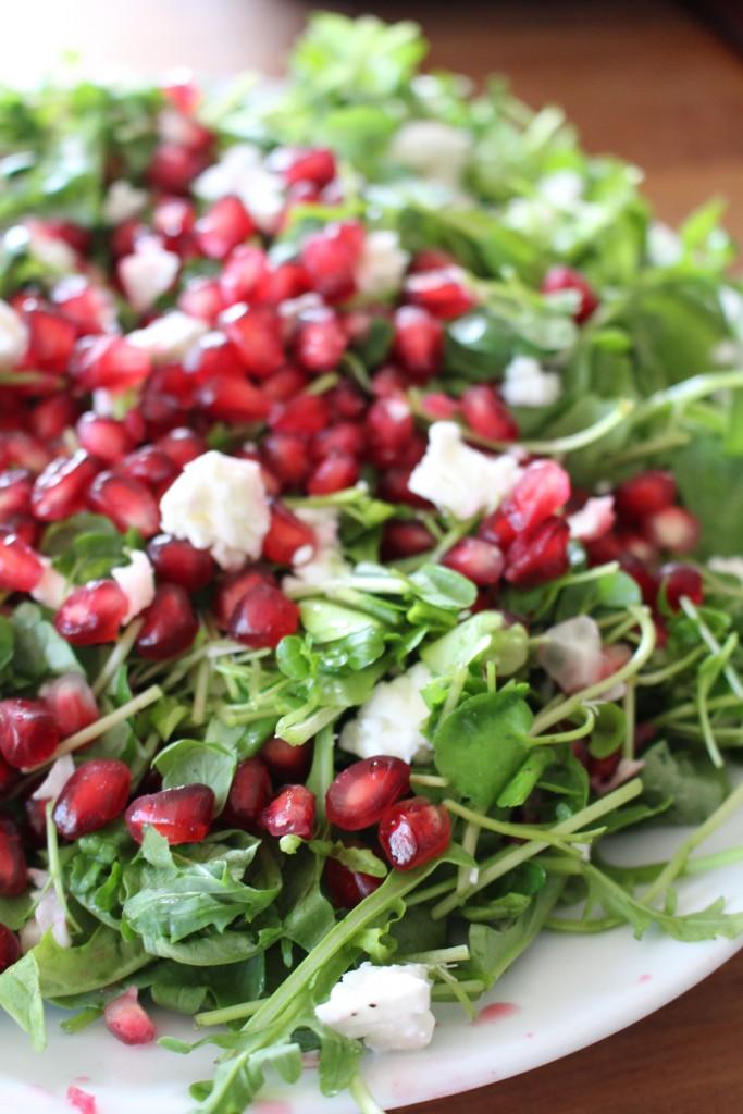 granatæble salat