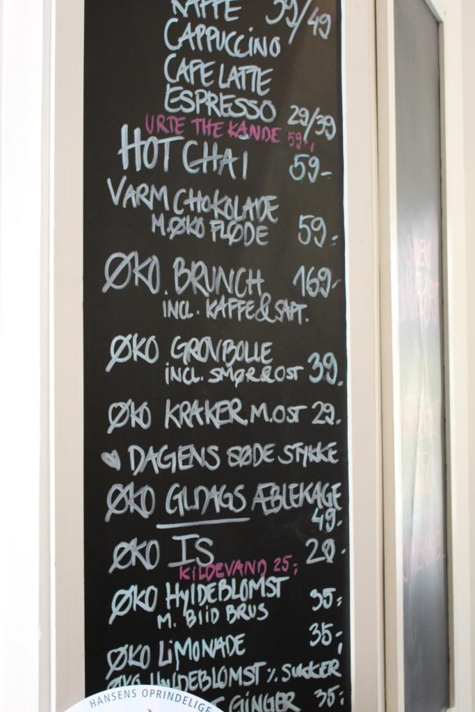 menu Café Fleuri