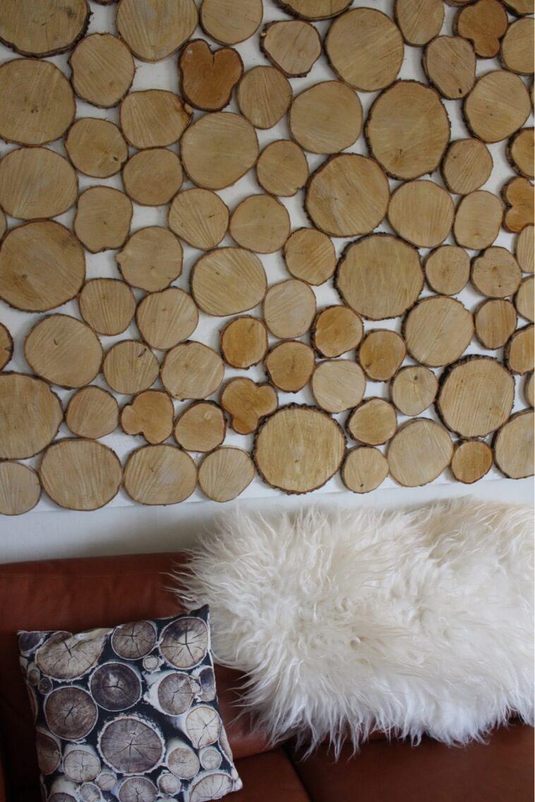 DIY: En Birketræsvæg der bringer naturen ind i stuen