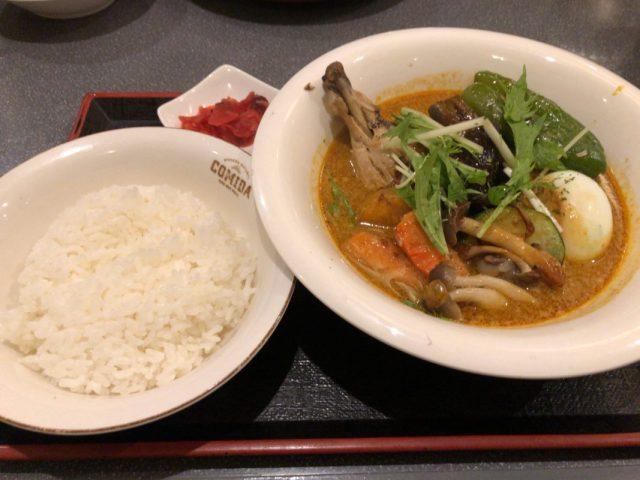 岩内町でスープカレーを食べられるお店
