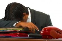 昼間や仕事中に眠い