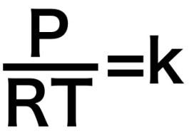 P/RT=k