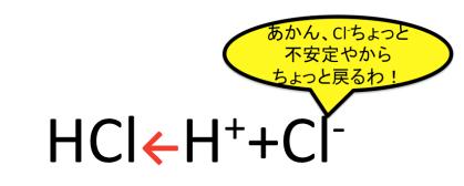 ハロゲン化水素の酸性の順番