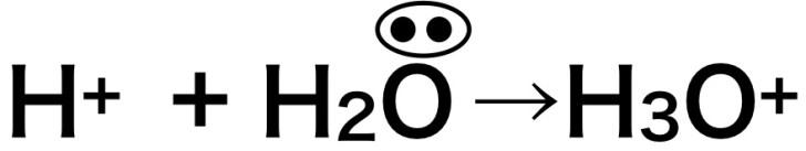 オキソニウムイオンは配位結合です