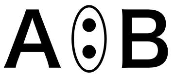 A:Bの共有結合