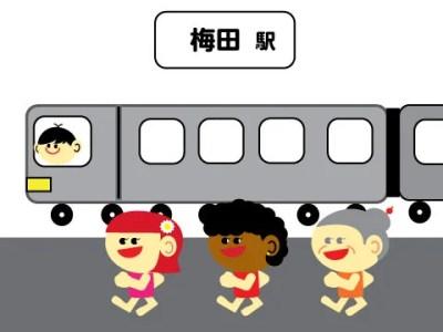 梅田 リスニングラボ アクセス 2