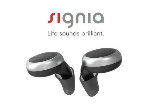 シグニア 充電式耳あな型補聴器 active