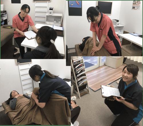 私達が松山市の産後の骨盤矯正をおこないます