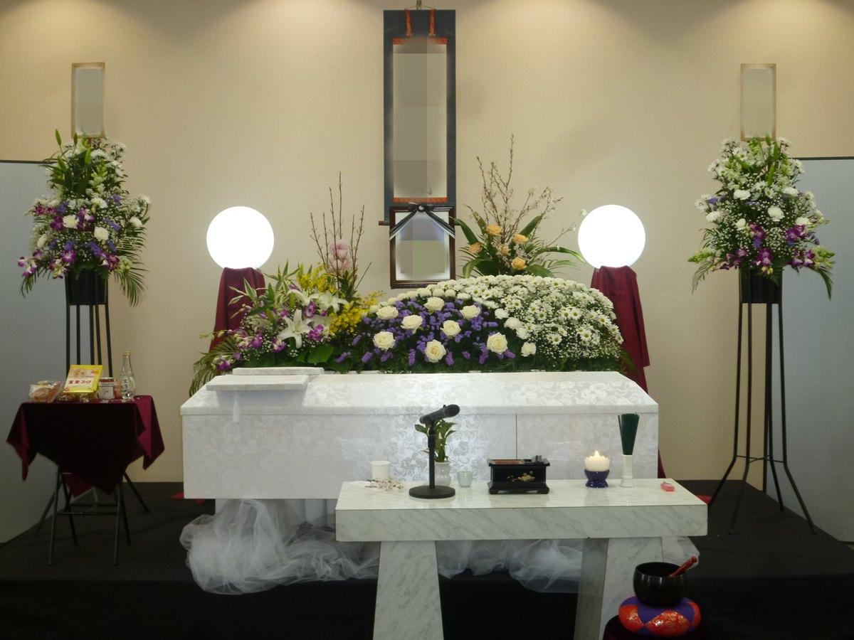 瓜破斎場 葬儀例 K様