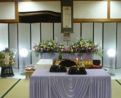 瓜破斎場 葬儀例3