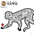【迷路】リスザル(難しい) アイキャッチ