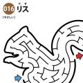 【迷路】リス(易しい)アイキャッチ