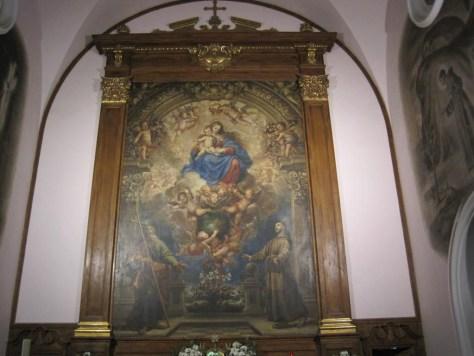 Francisco Ricci. Convento de El Cristo de El Pardo