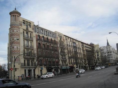 Madrid edificio de las Bolas