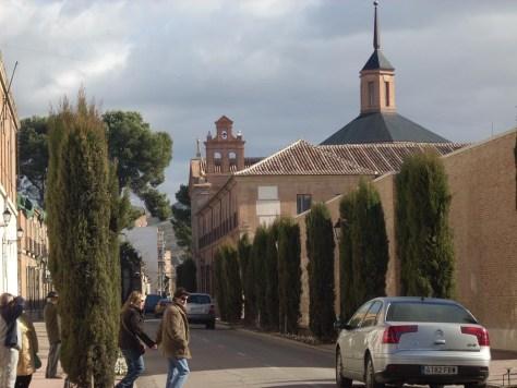 Calle de los Colegios en Alcalá de Henares
