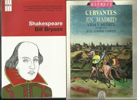 Cervantes y Shakespeare, Dia del Libro
