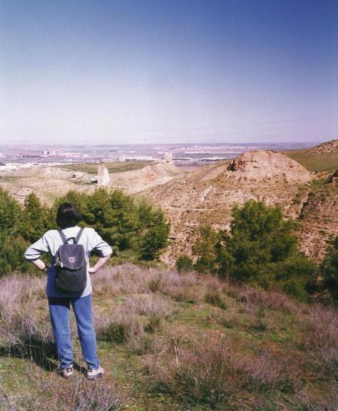 Fortaleza árabe en Cerro del Ecce Homo en la Alcarria madrileña