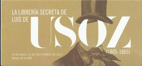 La Libreria secreta de Luis Usoz en la BNE