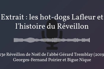 Extrait : les hot-dogs Lafleur et l'histoire du Réveillon (2019)