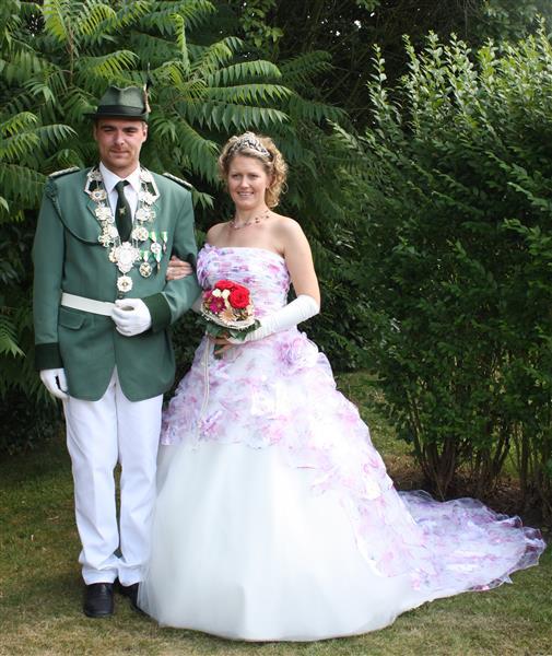 Königspaar Tim Hagedorn und Simone Gerke