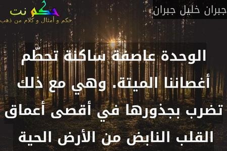 حكم و أقوال عن الوحدة 122 مقولة عن الوحدة حكم نت