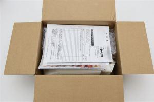 BIGLOBE SIM同梱物と梱包箱