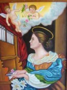soñar con santa cecilia