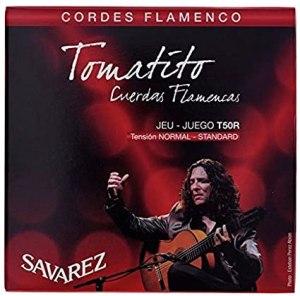 JUEGO DE CUERDAS SAVAREZ TOMATITO FLAMENCO