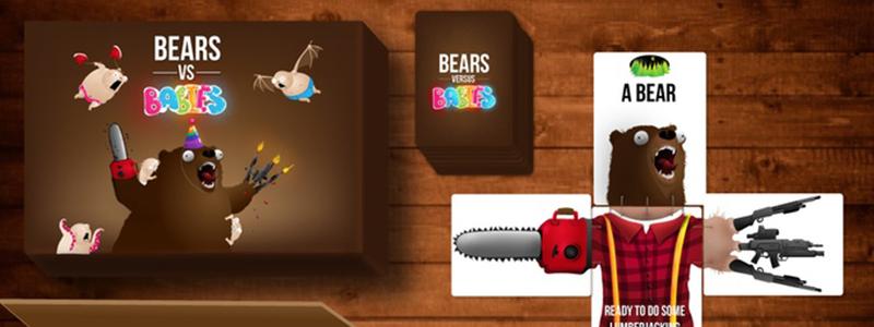 spelglädje brädspel sällskapsspel bears vs babies