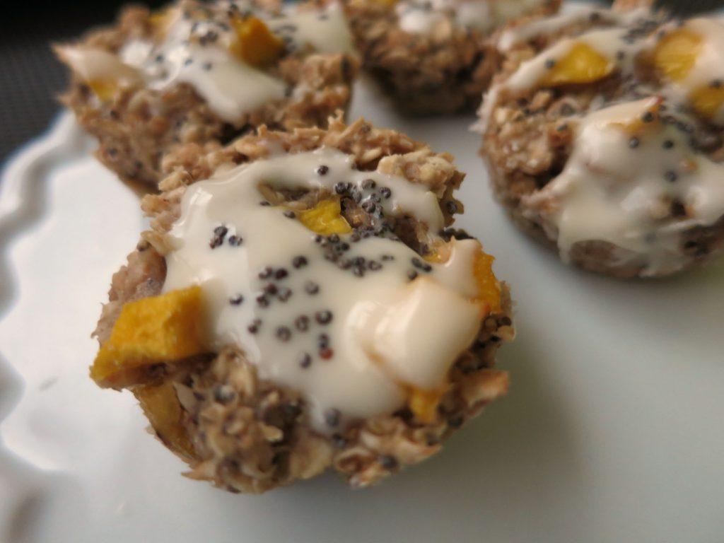 Mango Mohn Müsli Muffin