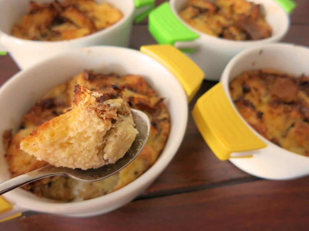 Eierlikör Brot Pudding