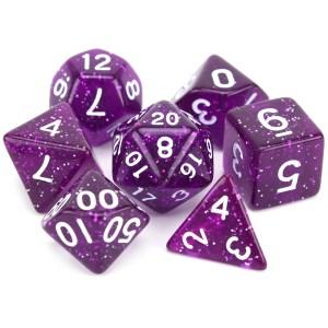 Glitter Dice - Double Purple