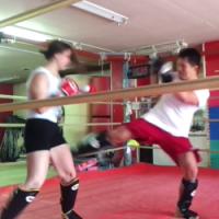 【田村潔司】シンプルに見て覚える格闘技 キックボクシング(打撃編ローキック)