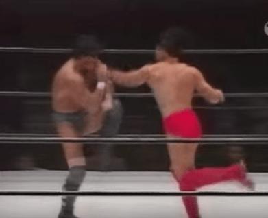 第36戦目  田村潔司vs佐野直喜  Uインター  プロレス  1994年5月6日日本武道館