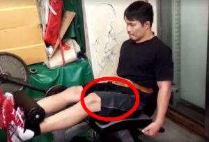 【田村潔司】足を鍛える「レッグエクステンション」基本のフォーム&正しいやり方&注意点