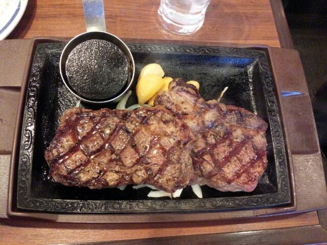 【孤高のグルメ】ステーキガスト「ログステーキ」「キッズバーグ」「カットステーキ」