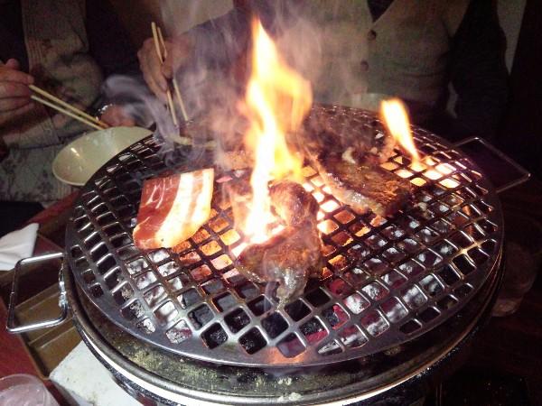 【孤高のグルメ】元祖ホルモン焼肉たろう食堂(岡山)97点の高得点