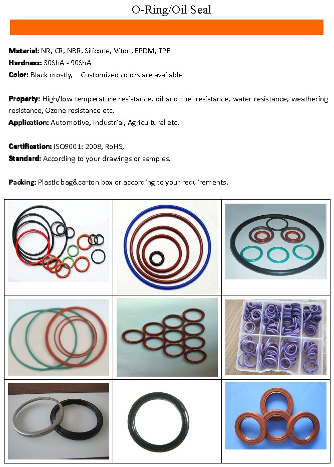 O-Ring/Oil Seal