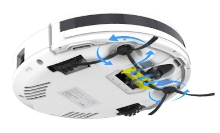 ILIFE(アイライフ)のロボット掃除機には回転ブラシが無い機種がある
