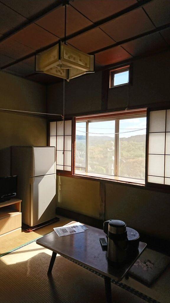 安心感のあるほっこりとした自炊湯治宿の客室